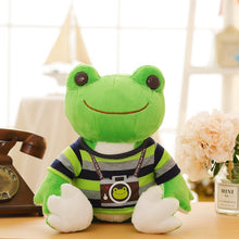 Load image into Gallery viewer, Lovely Dressed Frog Plush Stuffed Toy