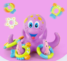 Load image into Gallery viewer, Octopus Bath Toy With Rattles