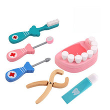 Load image into Gallery viewer, Wooden Dentist Play Set