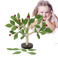 Load image into Gallery viewer, Montessori Wooden Assembled Tree Educational Toy