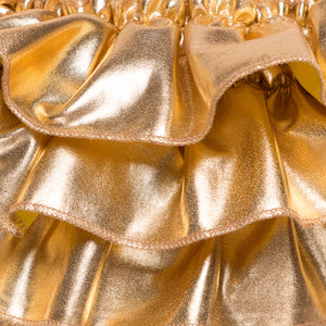 Golden Ruffle Baby Set
