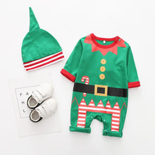 Load image into Gallery viewer, Baby Christmas Romper Costume