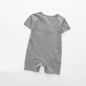 Short Sleeved Jumpsuit For Newborn