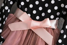 Load image into Gallery viewer, Polka Bow Tie Dress