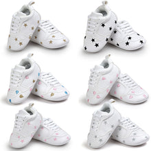 Load image into Gallery viewer, Baby Heart Star Pattern First Walkers Kids Shoes