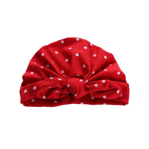 Sweet Dot Baby Girl Hat with Bow