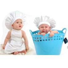 Load image into Gallery viewer, Chef Style Adorable Baby Hat