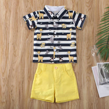 Load image into Gallery viewer, Baby Boy Gentleman Summer Outfits Set