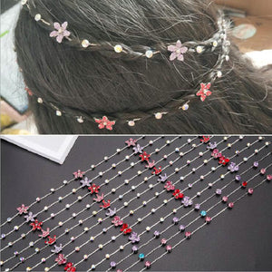 Girl Hair Extension Rhinestone Hair Accessories