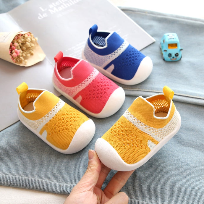 Comfortable Non slip Knitting Baby First Walkers Shoes