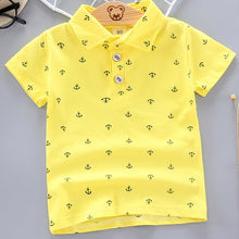Load image into Gallery viewer, Polo Short Sleeve Anchor Shirts