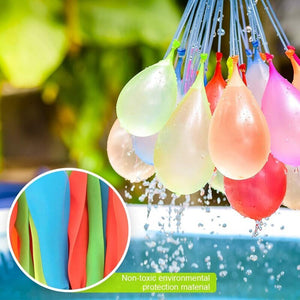 Water Balloons Magic Water Bombs & Launcher Beach Ball Party