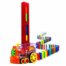 Load image into Gallery viewer, Domino Rally Train Toy
