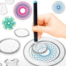 Load image into Gallery viewer, Spirograph Drawing Toy Set