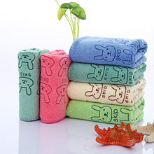 Load image into Gallery viewer, Microfiber Absorbent Drying Bath Washcloth