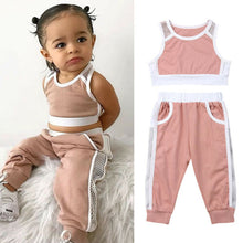 Load image into Gallery viewer, Toddler Baby Girls Clothes Sports Outfits