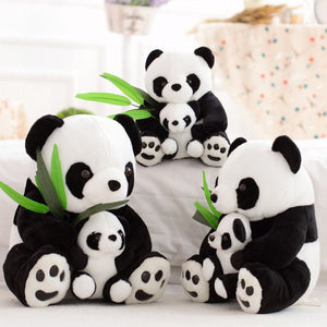 Cute and Snuggly Stuffed Panda