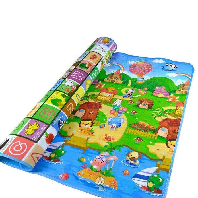 Letters Alphabet Farm Pattern Play Mats For Baby