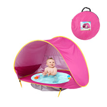 Load image into Gallery viewer, Baby Beach Tent Pop Up Portable Shade Pool