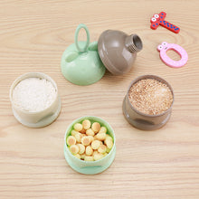 Load image into Gallery viewer, Portable Baby Food Storage Box Essential Cereal Cartoon Milk Powder