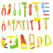 Load image into Gallery viewer, 34 pcs Kiddie Tool Set