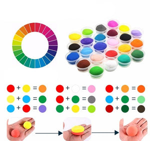 36 Colors/Set Super Light Clay with 3 Tools