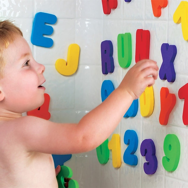 Educational Alphanumerical Bath Puzzle