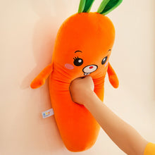 Load image into Gallery viewer, Cartoon Smile Carrot Plush Toy