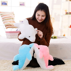 45cm Luminous Plush Dolphin
