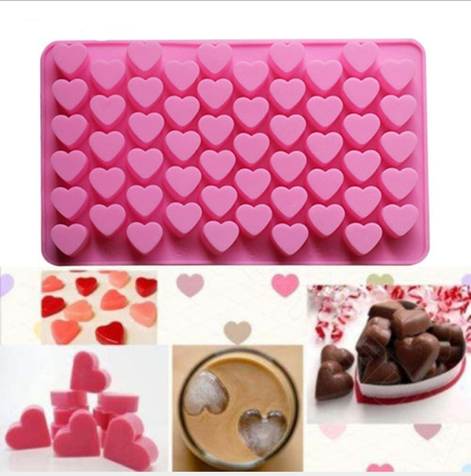 55 Silicone Chocolate Cake Love Heart Shaped Mold