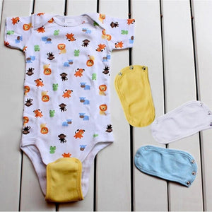 5Pcs Baby Rompers Couche Changing Pad Jumpsuit