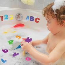 Load image into Gallery viewer, Educational Alphanumerical Bath Puzzle