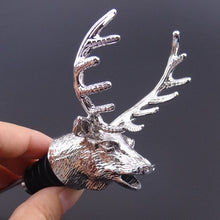 Load image into Gallery viewer, New Stainless Steel Deer Stag Head Wine Pourer