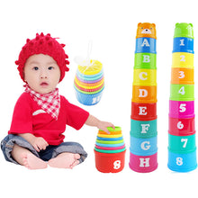 Load image into Gallery viewer, 8 Piece Educational Baby Toys