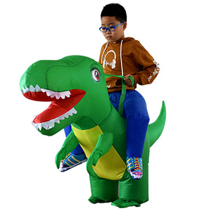 Inflatable Dino Costume For Kids