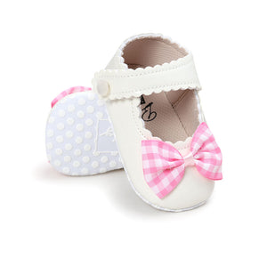 Autumn Infant Baby Girl Soft Sole Bow Shoes