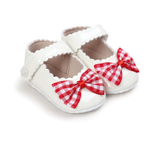 Load image into Gallery viewer, Autumn Infant Baby Girl Soft Sole Bow Shoes
