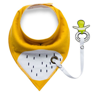 Baby Bibs Anti-drop Rope Super Absorbent Cotton Bandanna