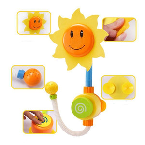 Baby Sunflower Shower Faucet Spray Bath Toy
