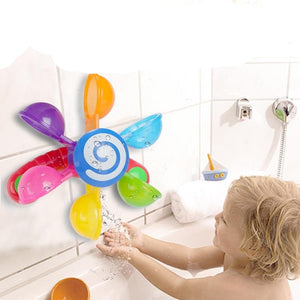 Play In Scoop Water Mini Windmill Bathing Toy