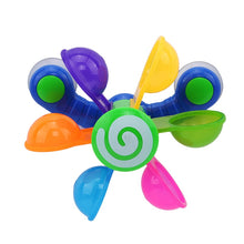 Load image into Gallery viewer, Play In Scoop Water Mini Windmill Bathing Toy