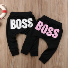 Load image into Gallery viewer, Unisex Hot Letter BOSS Cotton Pants