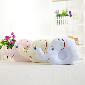 Flat Head Sleeping Support Cushion Shaping Pillow