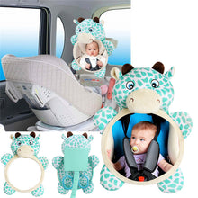 Load image into Gallery viewer, Baby Car Seat Animal Stuffed Toy