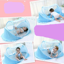 Load image into Gallery viewer, Baby Portable Crib Anti Mosquito Net