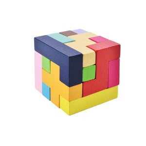 Tangram Slide Building Blocks