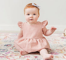Load image into Gallery viewer, Baby Girl Summer Romper