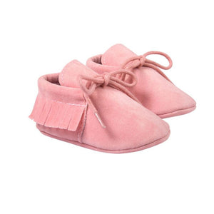 Suede Leather First Walkers Baby Moccasins