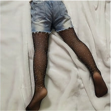 Load image into Gallery viewer, Baby Girl Tights Party Fishnet Pantyhose