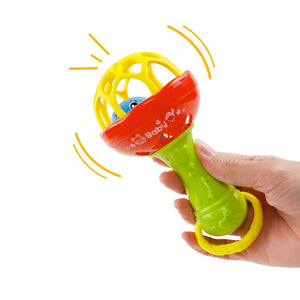 Baby Rattles toy Intelligence Grasping Hand Bell